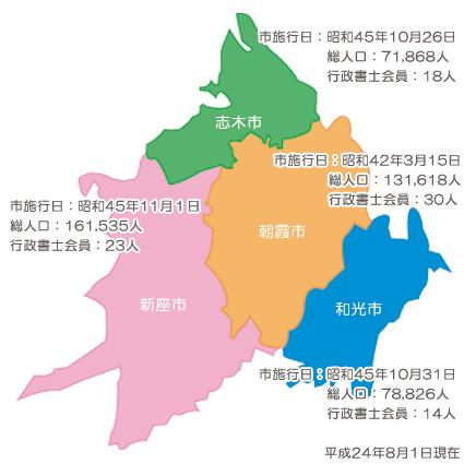 朝霞支部の詳細